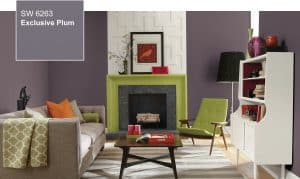 Commercial Painting Sherwin Williams Plum
