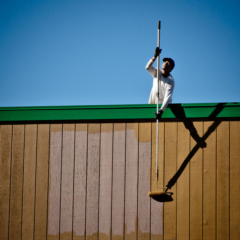 Exterior Painting Tip: Paint Your Walls Like A Pro – Extension Poles for Paint Rollers