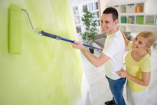 Interior Painting: Paint Fast, Paint Best… Over a Wallpaper