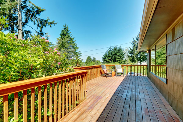 Exterior Painting Tip: Keep Your Deck Away from Hazardous Elements