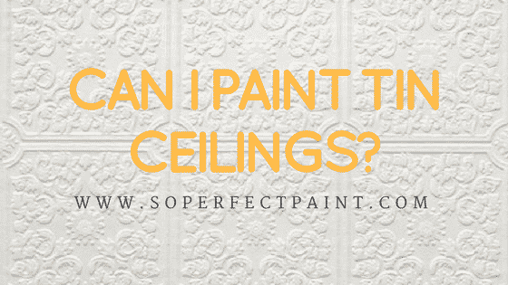 Can I Paint Tin Ceilings? - Commercial Paaint Contractor Grayson, Atlanta