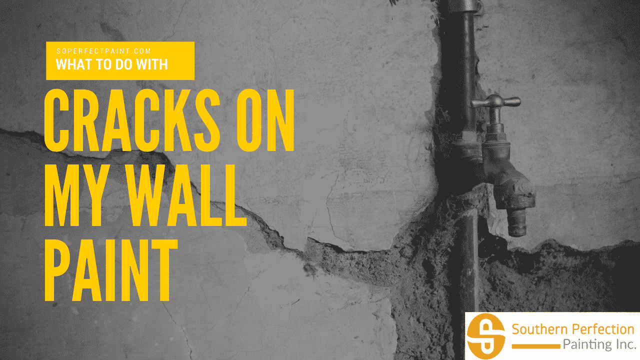 what to do with cracks on my wall