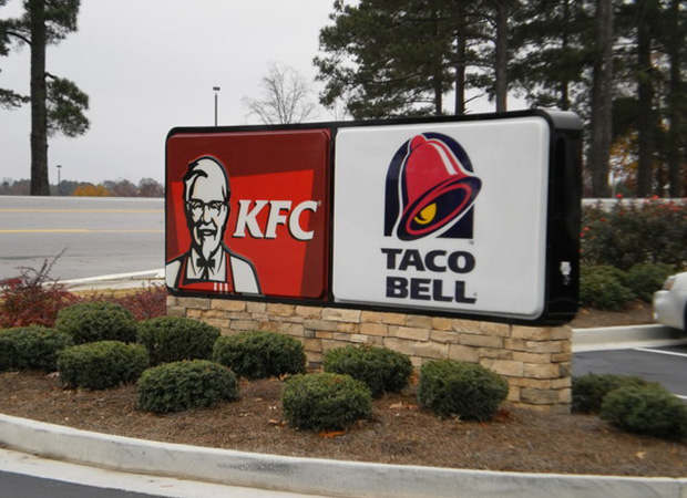 Commercial Painting KFC Taco Bell