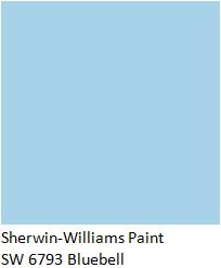 residential painting interior painters Sherwin Williams BlueBell