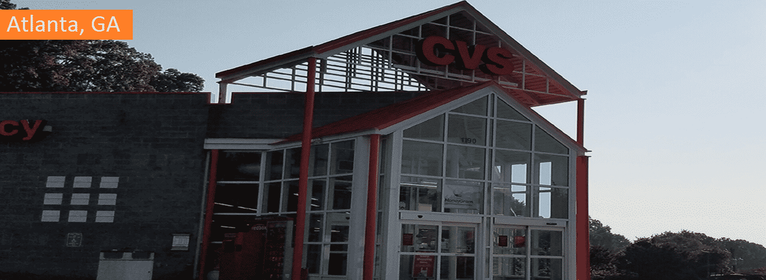 Atlanta GA CVS commercial painting
