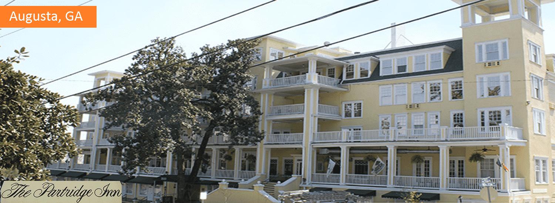 Augusta GA The Partridge Inn commercial painting