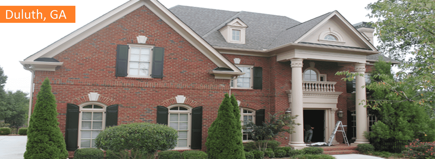 Duluth GA residential painting