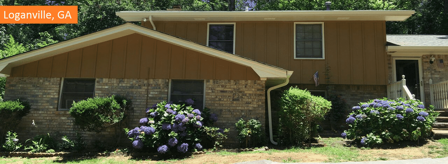 Loganville residential painting
