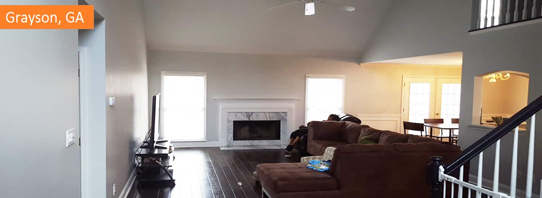Grayson GA interior painting services