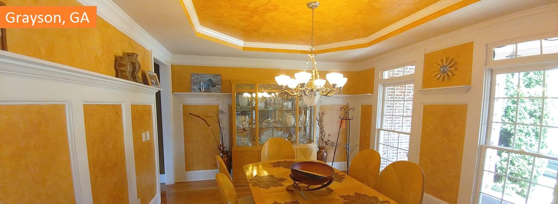 Grayson GA residential interior painting