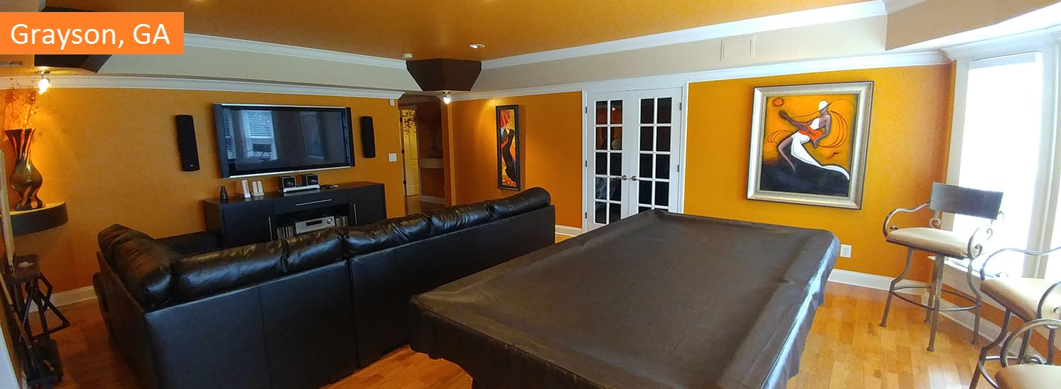 Grayson GA residential interior painting