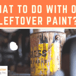 What to Do With Leftover Paint from Prior Years